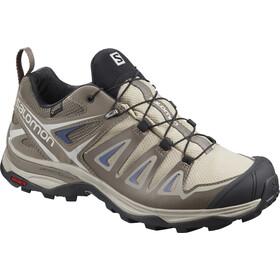Salomon X Ultra 3 GTX Chaussures de randonnée Femme, vintage kaki/bungee cord/crown blue